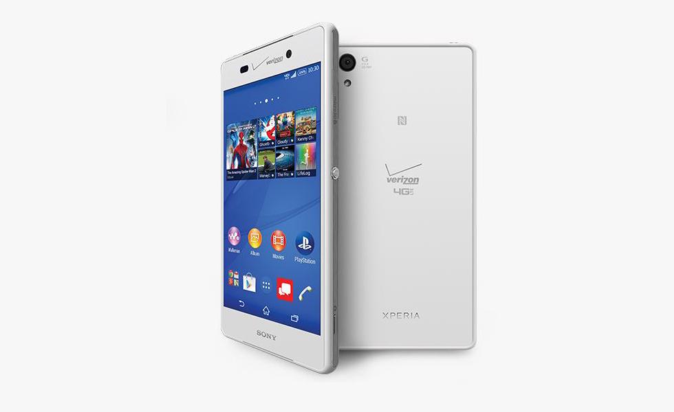 Xperia Z3v White Verizon