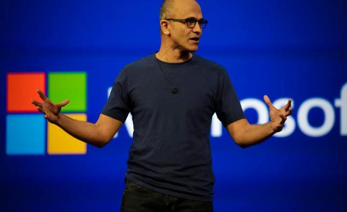 Satya Nadella, CEO, Microsoft'