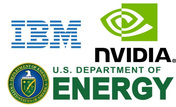 IBM Nvidia DOE Supercomputer