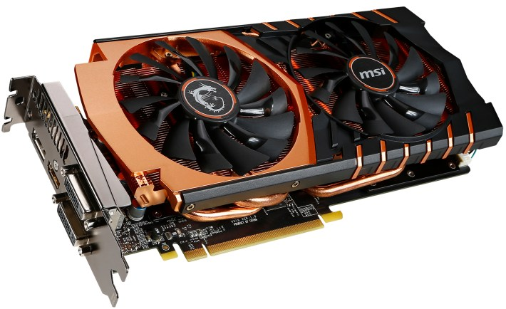 msi nvidia gtx 970 gaming g4 golden edition - large