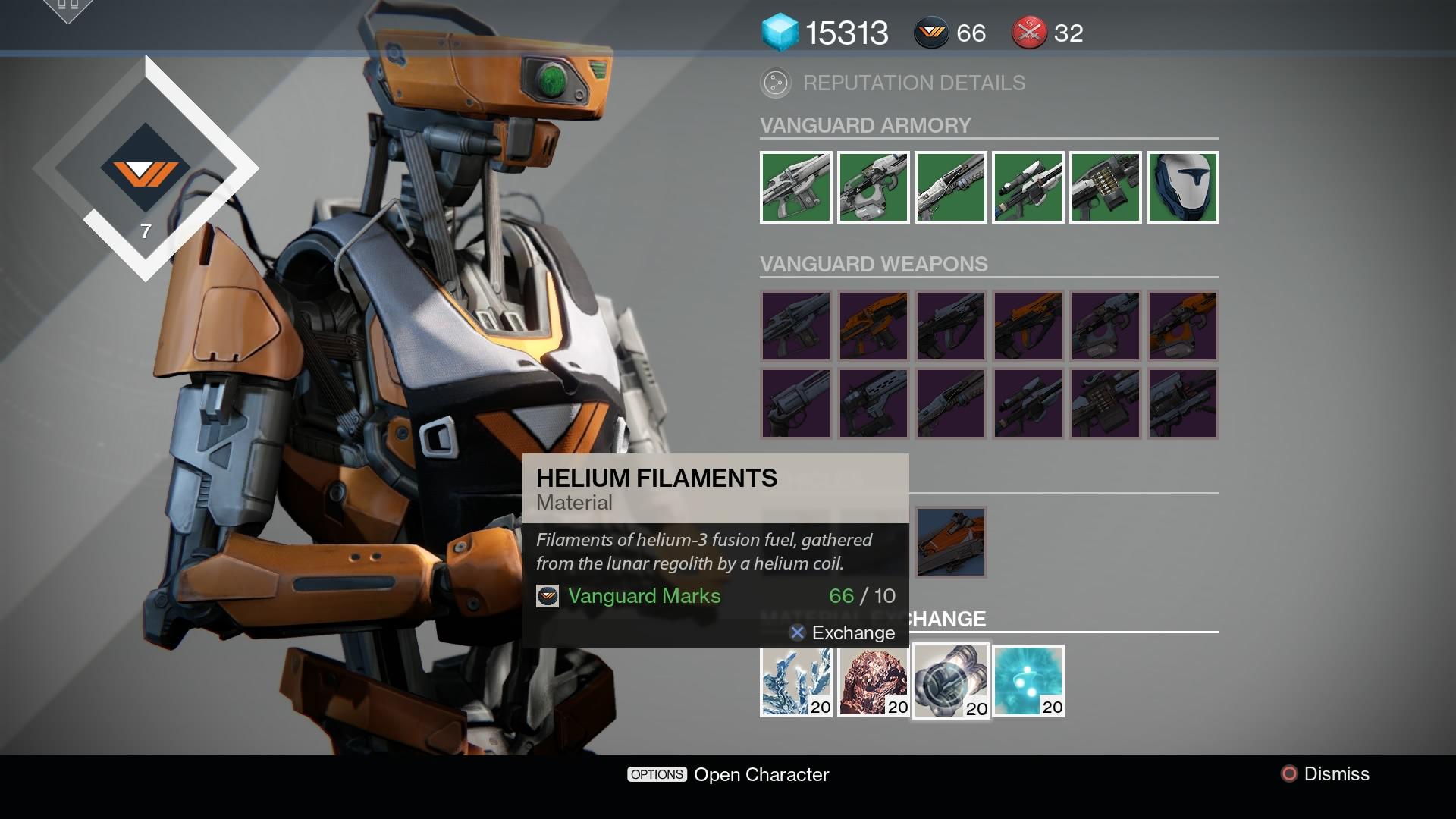 helium filaments farming destiny