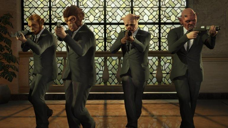 GTA V GTA Online heists