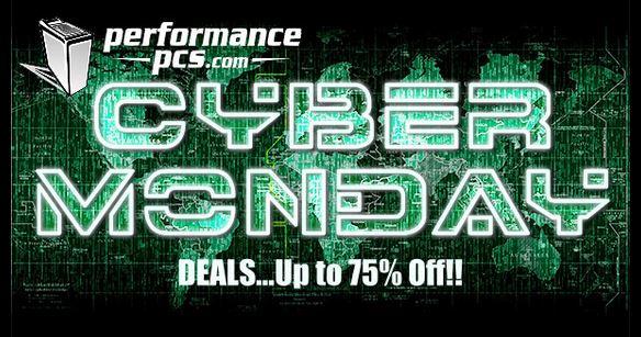 Performance PCs Cyber Monday