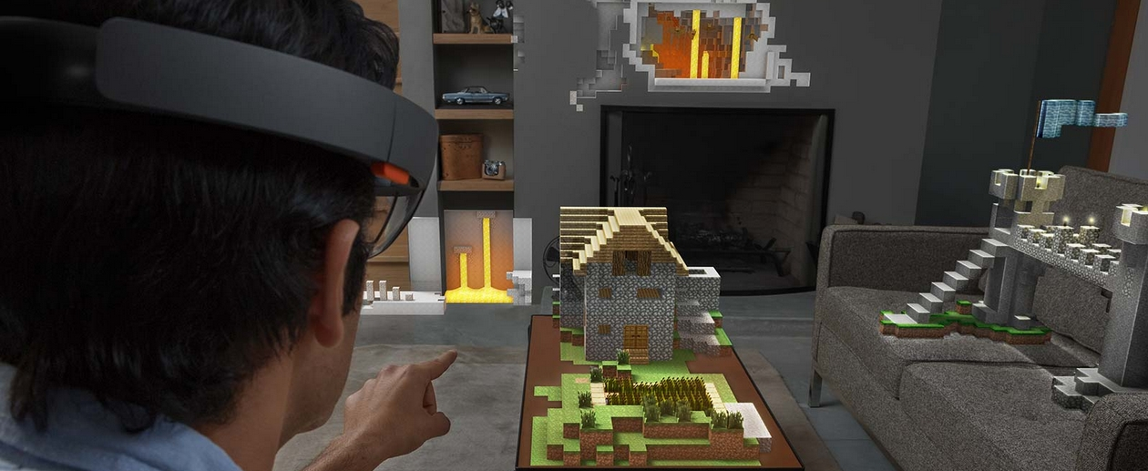 Microsoft HoloLens gaming experience.
