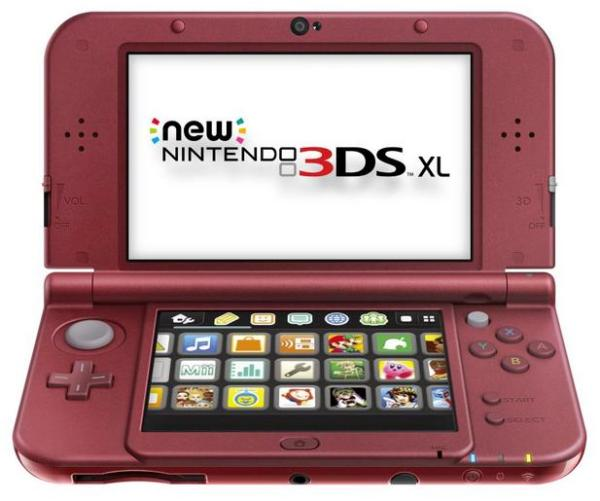 Only the New 3DS XL model is making its way to North America; the smaller variant is exclusive to overseas markets.