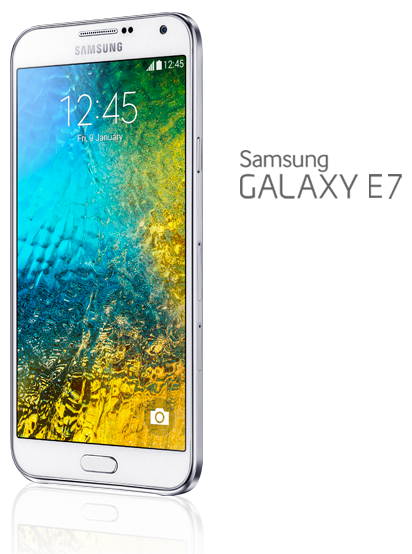 Samsung Galaxy E7 (Photo Courtesy of Samsung)