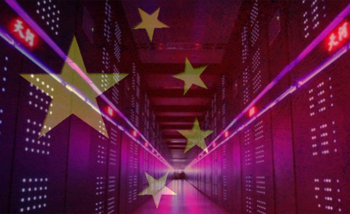 China's Tianhe-2 supercomputer is world's fastest supercomputer, at 33 PFLOPS demonstrated and 55 PFLOPS theoretical performance.