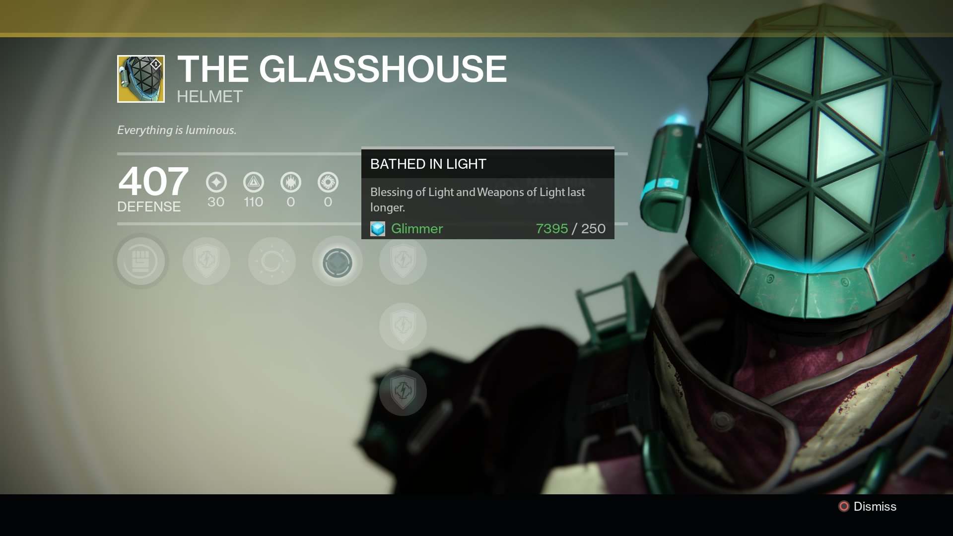 new exotic titan helmet