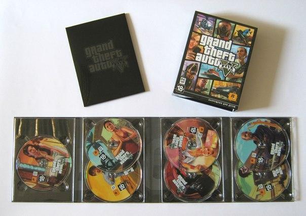 GTAV PC 7 Discs