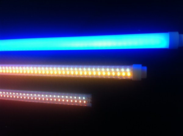 Madelec T800 LED Tubes are compatible with old tech CCFL, and offer considerable savings in weight, longevity and power consumption.