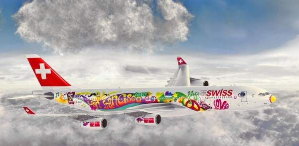 In order to celebrate its direct flight from Zurich to San Francisco, SWISS made a much better job than Turkish.