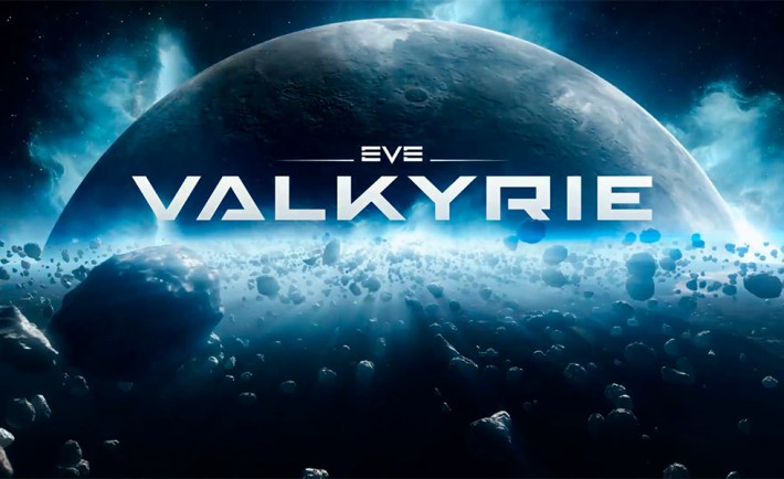 EVE: Valykrie Logo. World's First native VR AAA game.