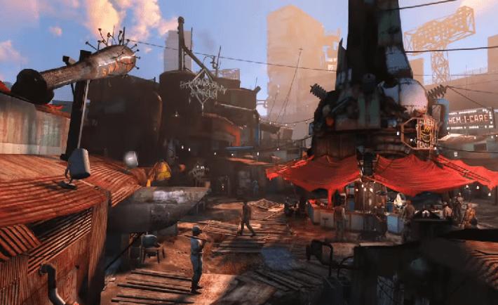 Fallout 4 New Megaton