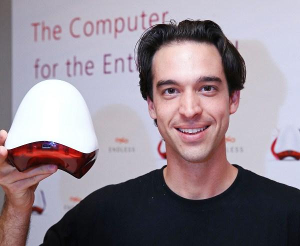 CEO Matt Dalio and the Endless PC.