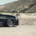 Black Sapphire Metallic BMW F82 M4 With Vorsteiner Aero And Wheels