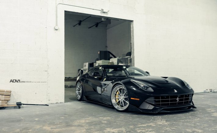 Ferrari F12 Berlinetta With ADV10 Track Spec CS Wheels