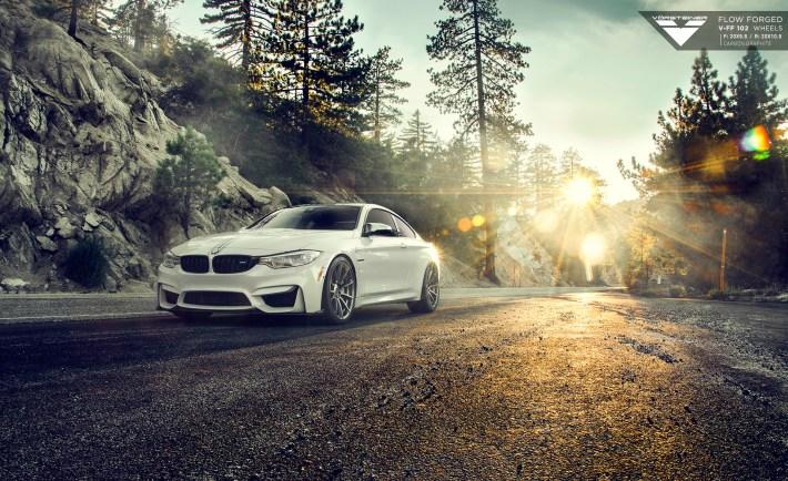 BMW F82 M4 With Vorsteiner Flow Forged V-FF 102 Wheels 1