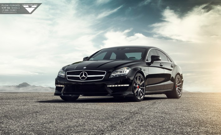 Mercedes-Benz CLS63 AMG With Vorsteiner Flow Forged V-FF 102 Wheels