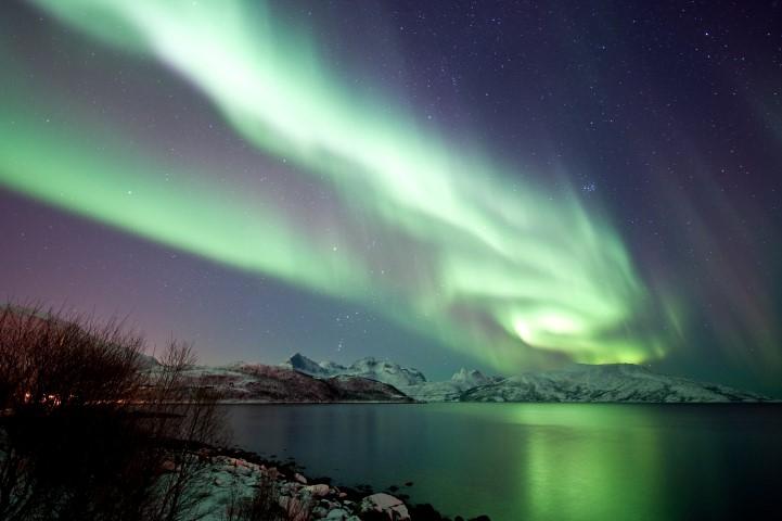 Aurora Borealis i.e. Northern Lights. Picture Credit: Gaute Bruvik