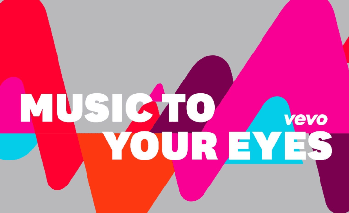 "Vevo ""Music to Your Eyes"" Logo"