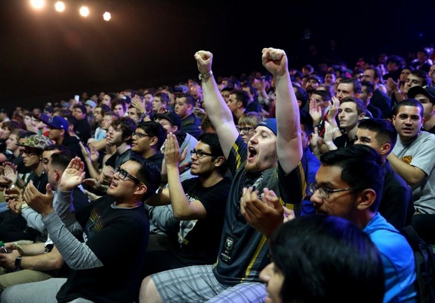 Fans are watching an eSports tournament live... in quite the substantial numbers, like the recently sold-out Madison Square Garden.