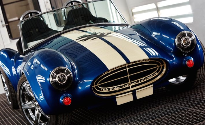 ORNL Manufacturing 3D printed the legendary Shelby AC Cobra