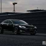 A Tesla Model S P85 Gets Vorsteiner Wheels
