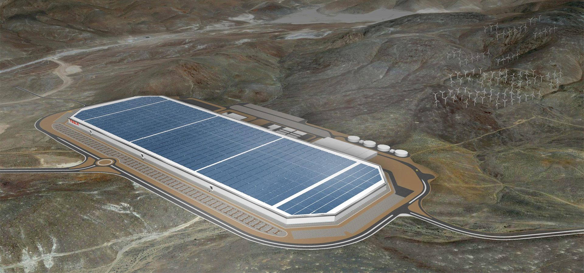 Tesla 35 GWh Gigafactory is planned to be in operation by 2020.