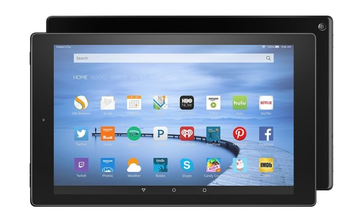 "5th Generation Amazon Kindle Fire HD 10.1"" (2015)."