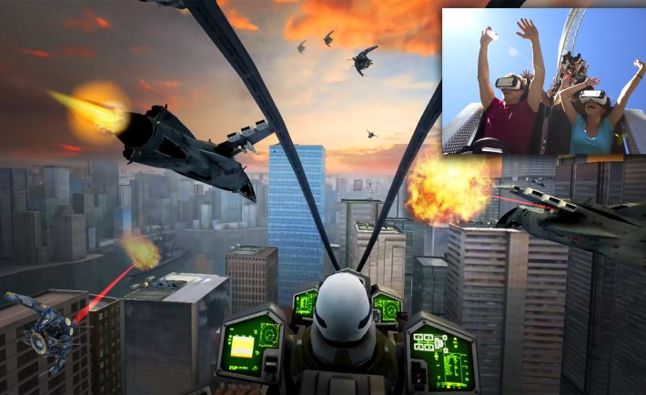 Six Flags Fighter Pilot VR Experience