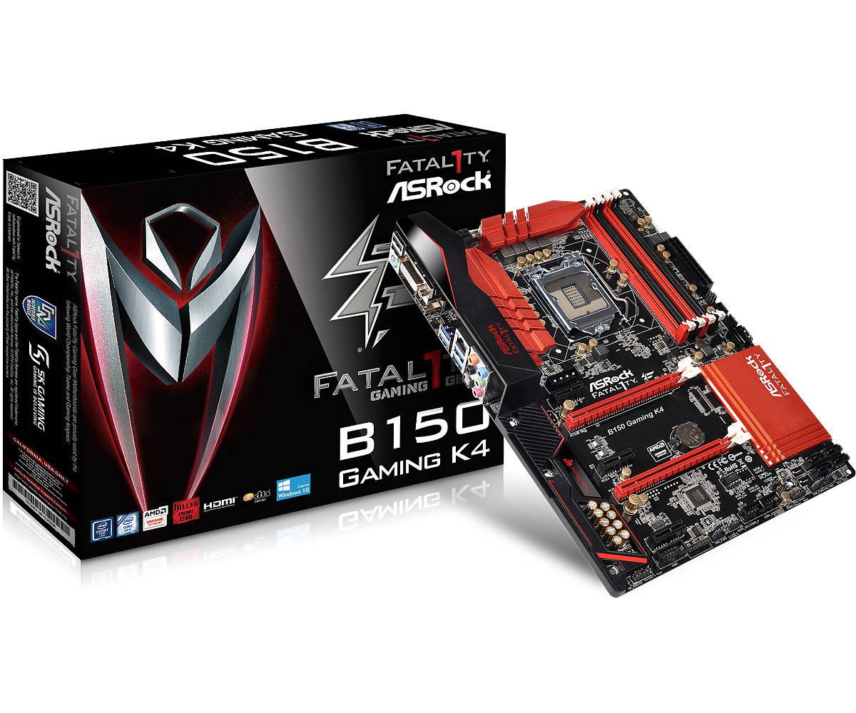 ASRock Fatal1ty B150 Gaming K4