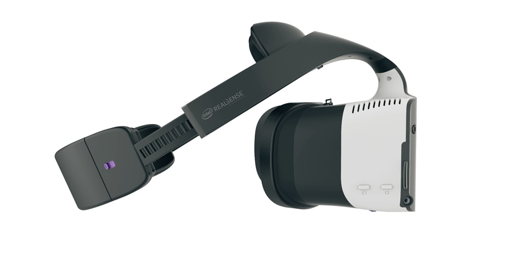 Project Alloy VR Glasses