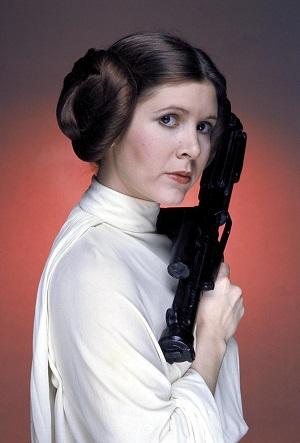 Princess Leia legendary hairstyle