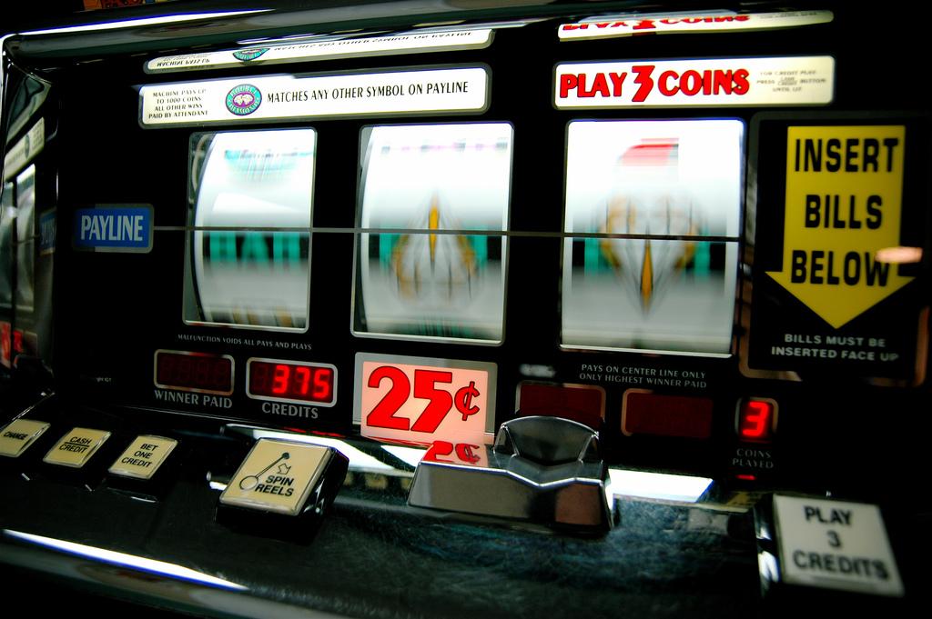Slot Machine. Picture Credit: Jeff Kubina