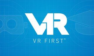 VR First Logo