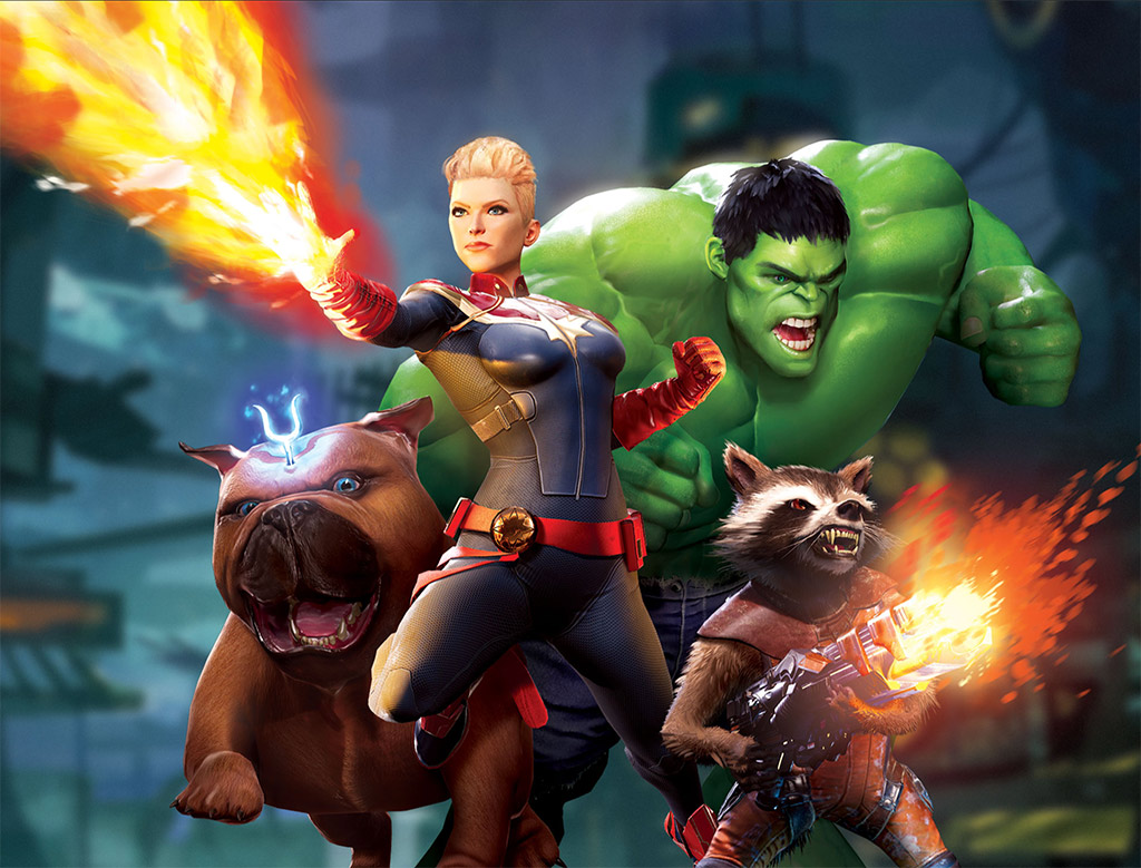 Literally Become Your Favorite Hero with Marvel Powers United VR