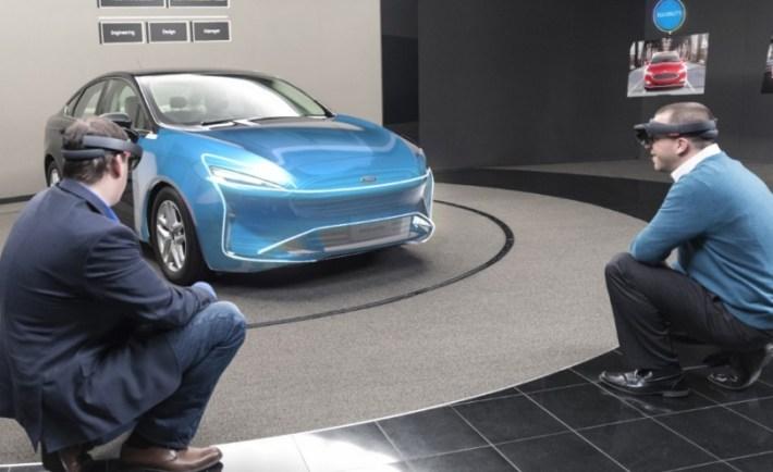 Microsoft; HoloLens; Ford Motor Company