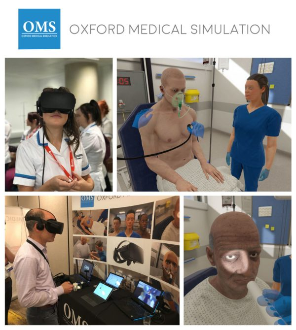 NHS diabetes doctors train in VR