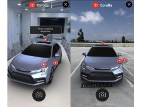 Toyota AR ad campaign brings Corolla to mobile devices