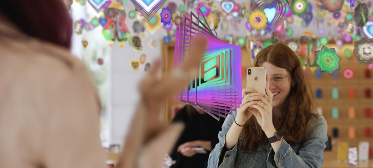 Apple Stores to host AR-based art experiences