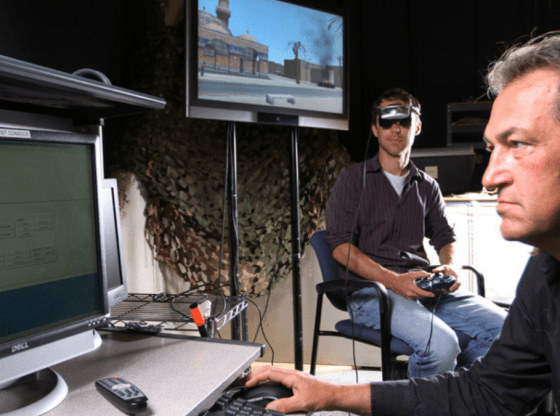 SoliderStrong donates VR system to treat patients experiencing post-traumatic stress