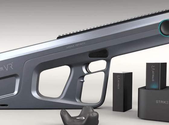 Striker VR and Nanoport Technology develop new haptic blaster