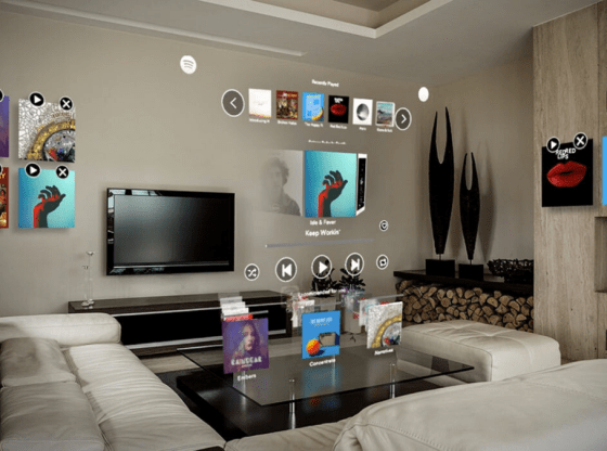 Spotify arrives on Magic Leap One