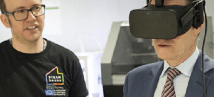 Birmingham City University to use VR to encourage business growth