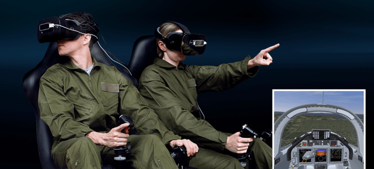 CAE launches new VR flight simulator for military pilots