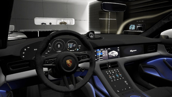 Porsche develops VR experience for new electric Taycan 2