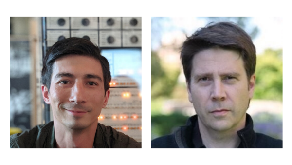 Shawn Frayne, Looking Glass Factory. Pictured left / Kim Libreri, Epic Games. Pictured right
