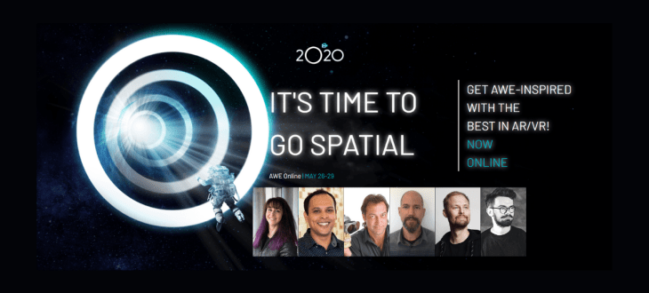 AWE Online 2020 - Five enterprise presentations and panels to tune in for 2