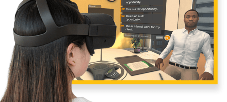 PwC study proves effectiveness of VR for soft skills training 1