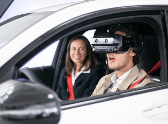 NXRT uses XR to turn real cars into virtual testing rigs